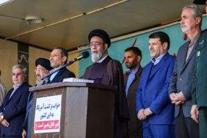 راهپیمایی یوم الله 13 آبان در تبریز