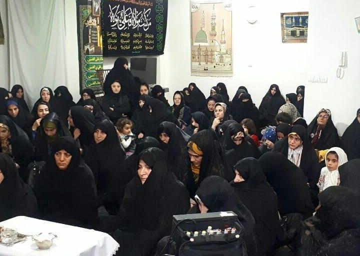 جامعه زینب استان آدربایجان شرقی جشن مولود عقیله بنی هاشم را برگزارکرد