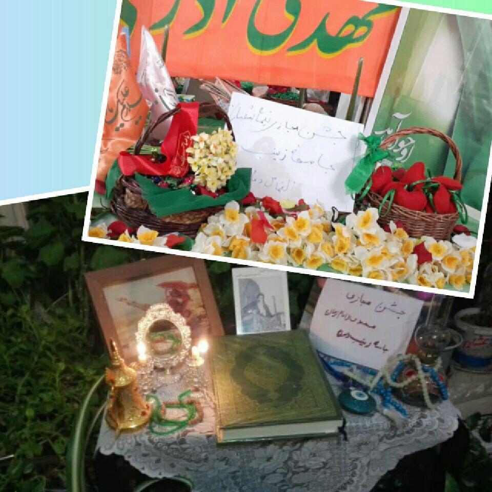جشن مجازی  جامعه زینب به مناسبت نیمه شعبان برگزار شد.