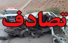 2 کشته در تصادف بلوار شهریار ملکان