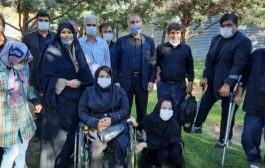 حضور احمدعلیرضا بیگی نماینده محترم مجلس   درجمع معلولین مساکن  مهرواعضای  جامعه معلولین