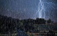 رگبار باران، رعد و برق و کاهش محسوس دما در استان