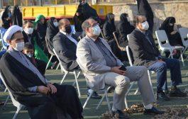 حضور شهردار تبریز در آیین گرامیداشت ۱۱۰۰ شهید شمالغرب تبریز