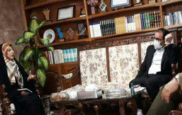 دیدار جامعه زینب با فرماندارشهرستان  اسکو