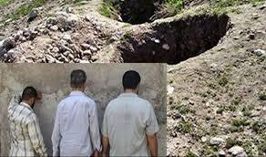 دستگیری حفاران غیرمجاز در هریس