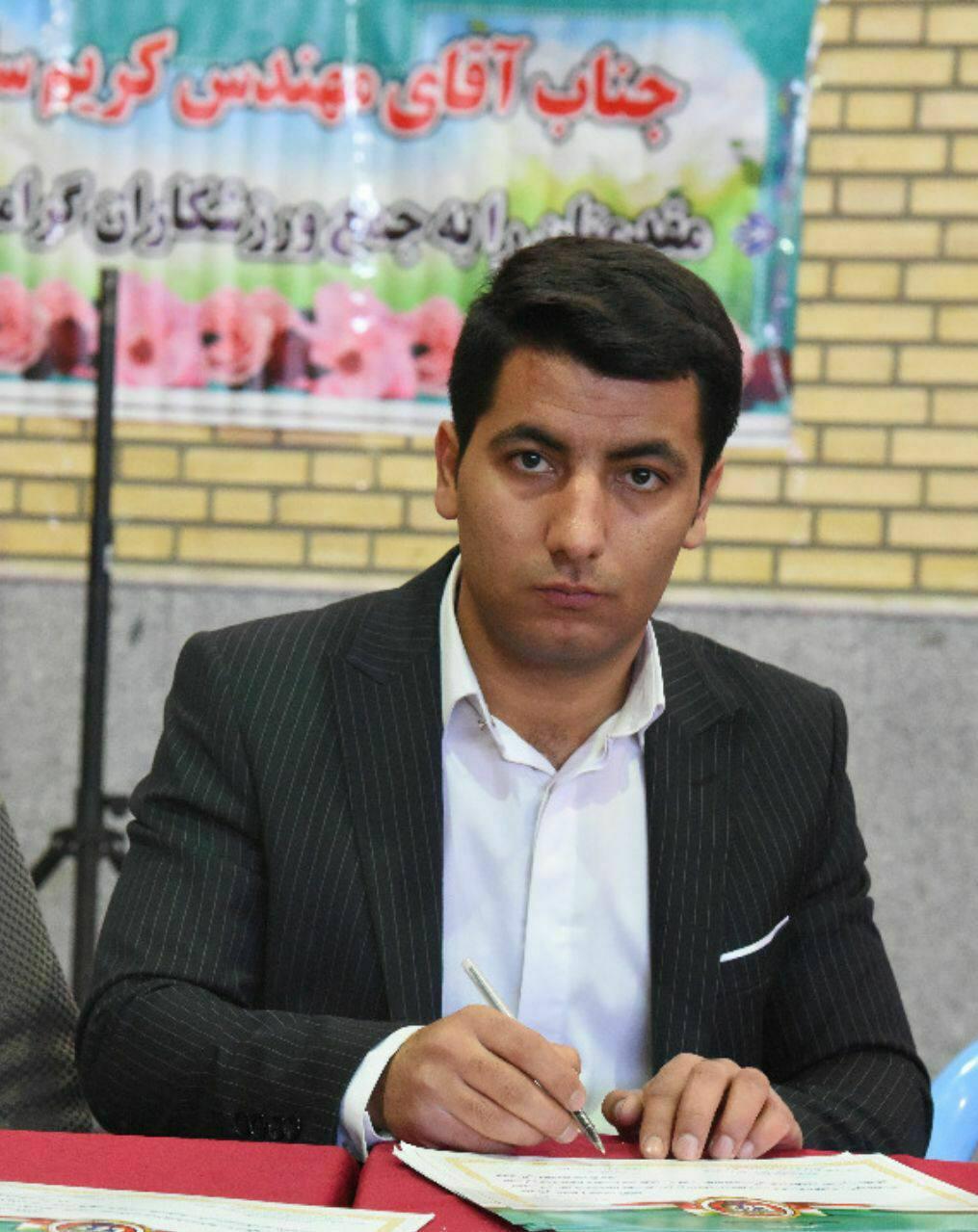 امیر مطلق آذری بعنوان سرپرست هیات انجمنهای ورزشهای رزمی کلانشهر تبریز منصوب شد.