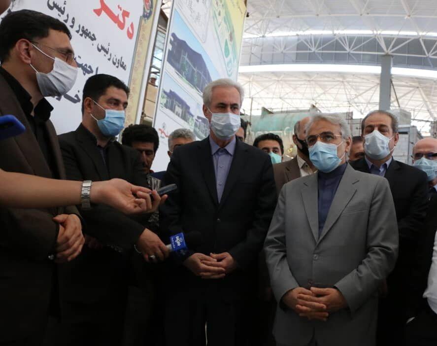 ایستگاه قطار خاورانتبریز تا پایان تیر تکمیل میشود